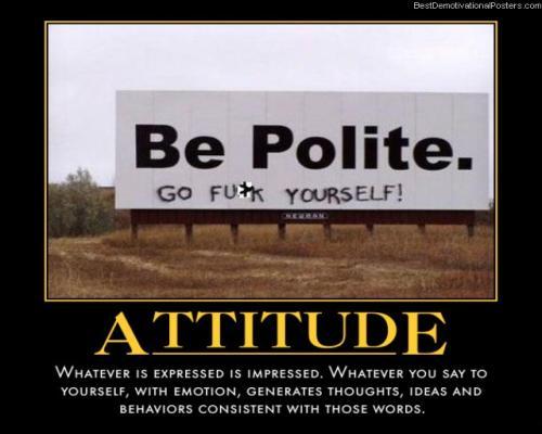 Attitude - Impression