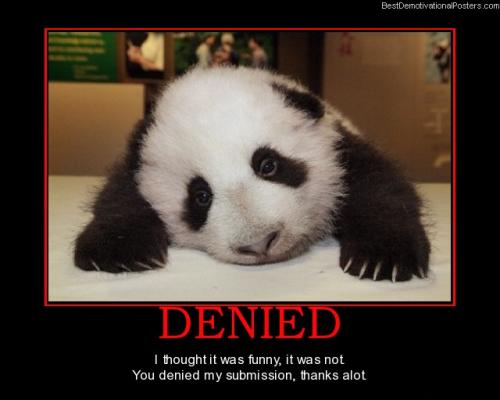 Denied – Submission