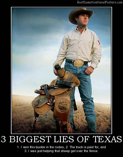 3 biggest lies of texas