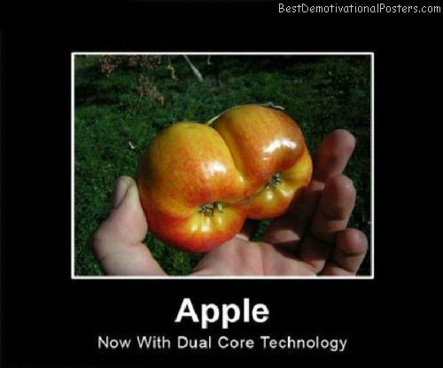 Apple-Dual-Core-Demotivational-Poster