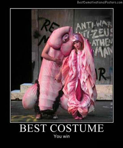Best-Costume-Demotivational-Poster