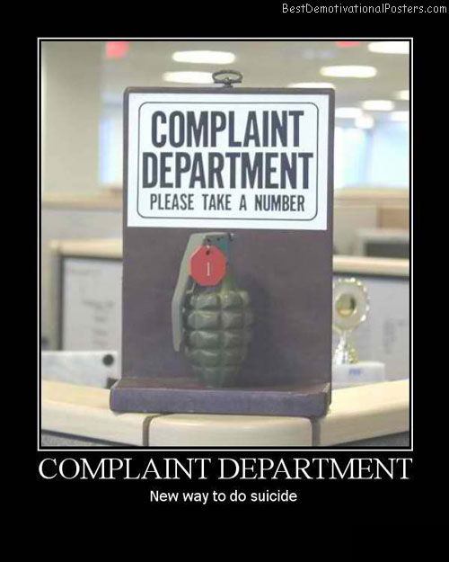 Complaint-Department-Demotivational-Poster