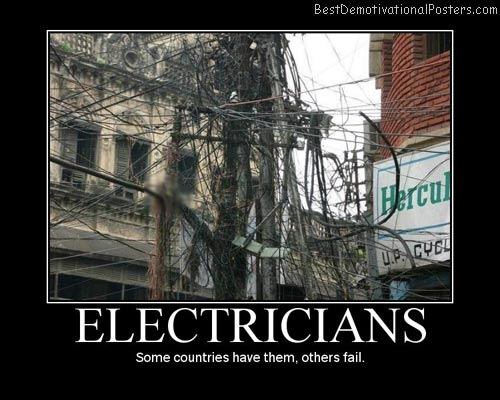 Electricians-Best-Demotivational-Poster