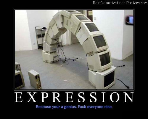 Expression-Demotivational-Poster