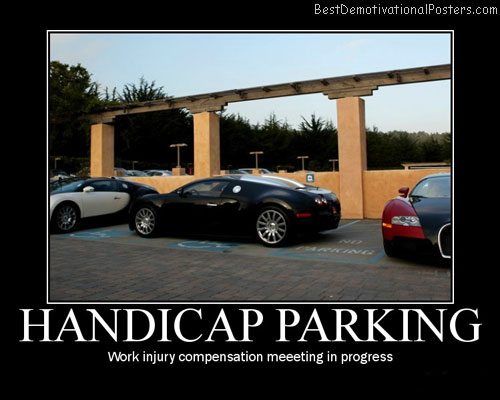 Handicap-Parking-Best-Demotivational-Poster
