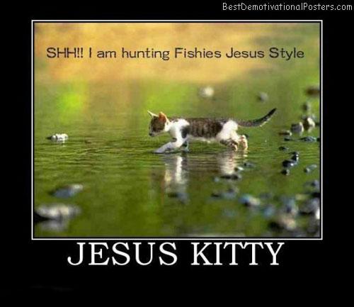 Jesus-Kitty-Demotivational-Poster