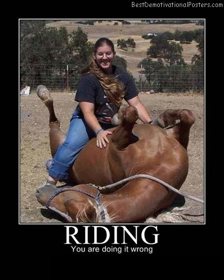 Riding-Demotivational-Poster