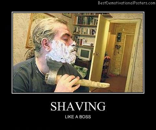 Shaving-Best-Demotivational-poster