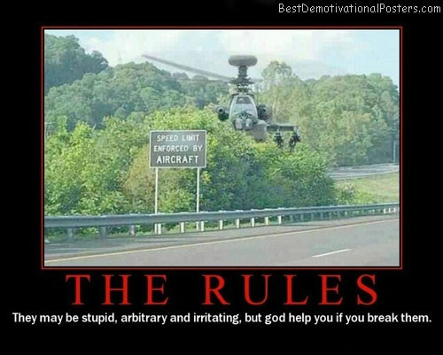 The-Rules-Demotivational-Poster