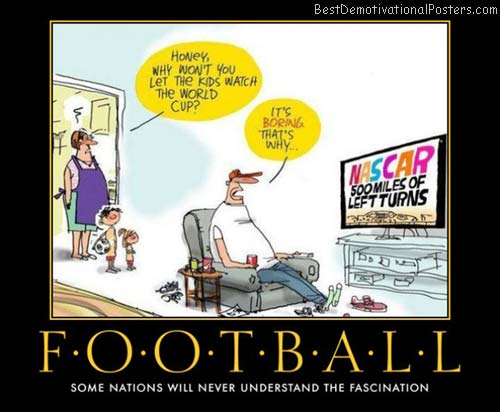 football on TV