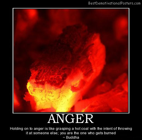 anger demotivational poster