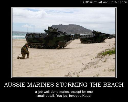 aussie marines