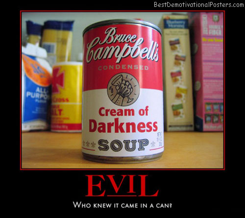 Evil From The Can