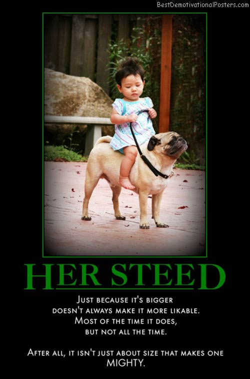 her-steed-dog-girl-horsey-steed-cubby-demotivational-poster