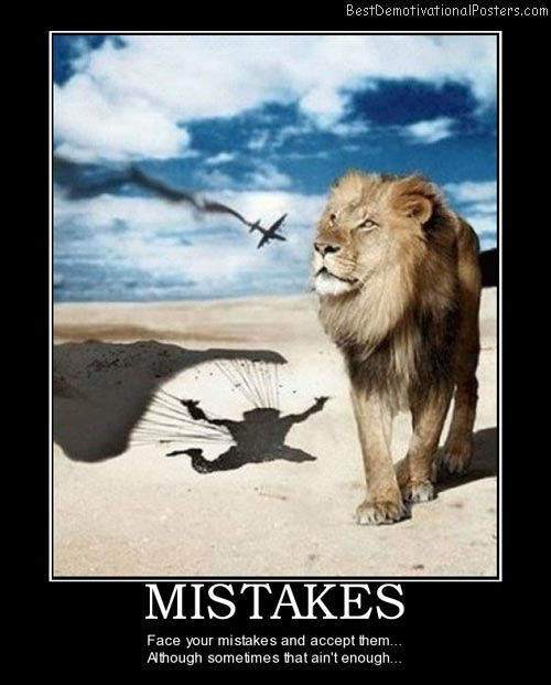 Face Your Mistakes