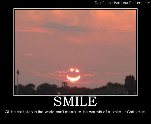 smile-warmth-smile-sunset-summer-smiley-demotivational-poster