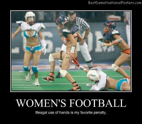 womens-football-Best-Demotivational-poster