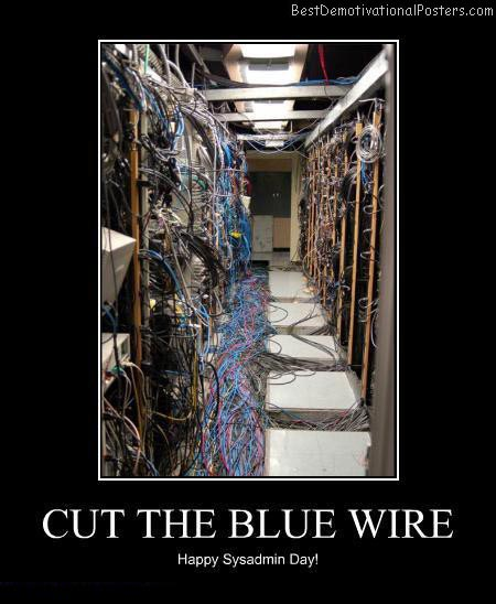 Cut The Blue Wire