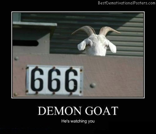 Demon-Goat-Best-Demotivational-poster
