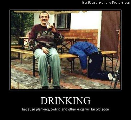 Drinking – ings