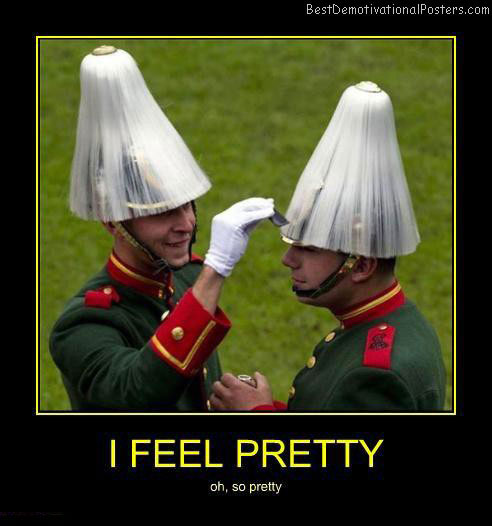 I-feel-pretty-Best-Demotivational-poster