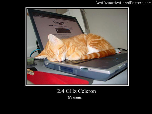 Laptop celeron-Best-Demotivational-poster