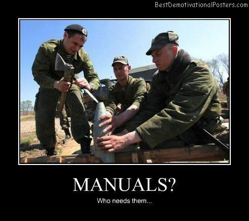 Manuals-Best-Demotivational-poster