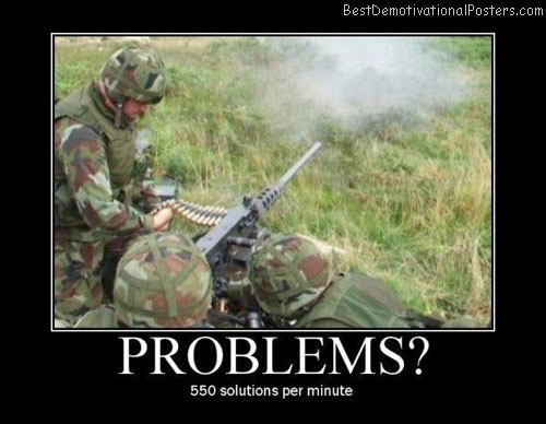 Problems-Best-Demotivational-poster