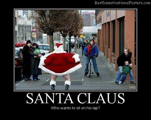 Santa Claus Lap