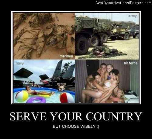 Serve-your-country-Best-Demotivational-poster