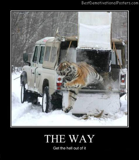 The-way-Best-Demotivational-poster