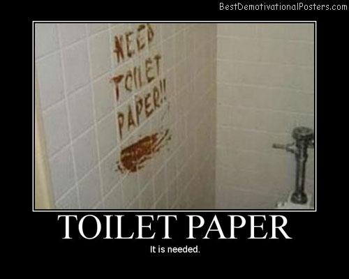 Toilet-paper-Best-Demotivational-poster