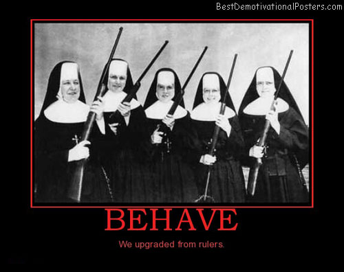 behave-nuns-guns-best-demotivational-posters