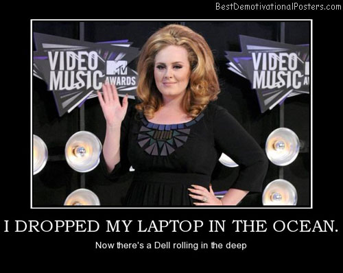 I Dropped My Laptop In The Ocean