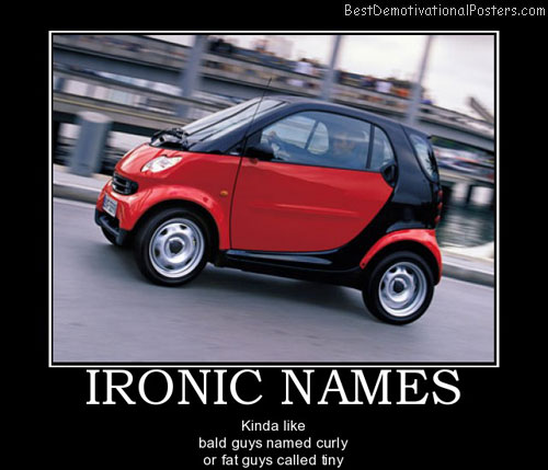 ironic-names-smart-car-best-demotivational-posters