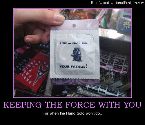 Keeping The Force With You