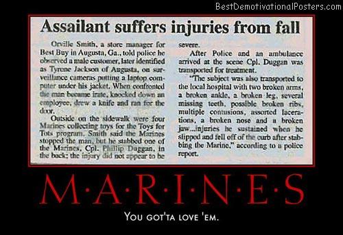 Marines Injuries