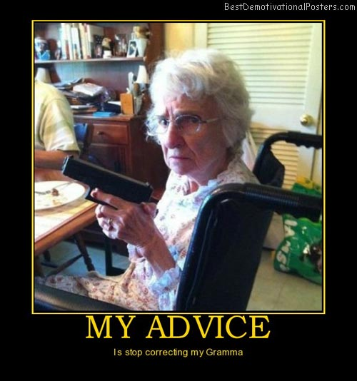 my-advice-grammer-best-demotivational-posters