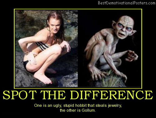 spot-the-difference-lindsay-lohan-jewelry-thief-gollum-best-demotivational-posters