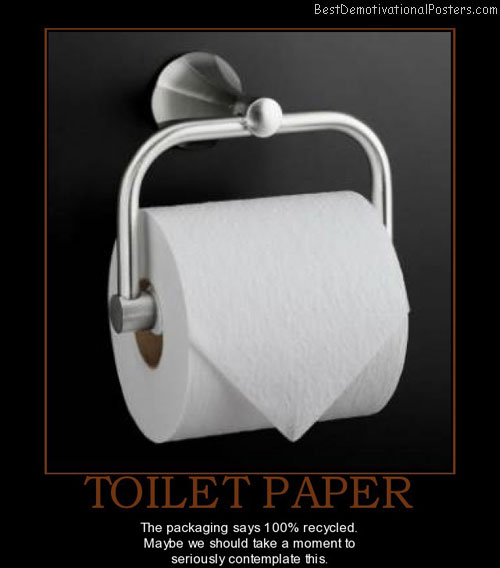 toilet-paper-recycled-seriously-contemplate-best-demotivational-posters