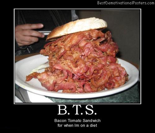 Bacon Tomato Sandwich