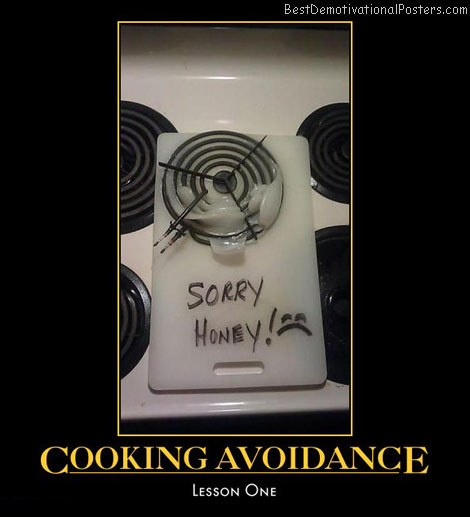 cooking-avoidance-melted-cutting-board-humor-best-demotivational-posters