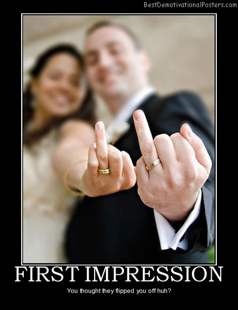 First Impression Of Wedding