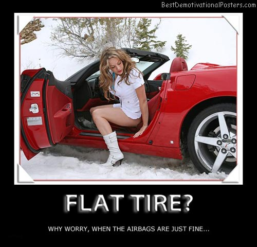 flat-tire-when-airbags-save-lifes-best-demotivational-posters