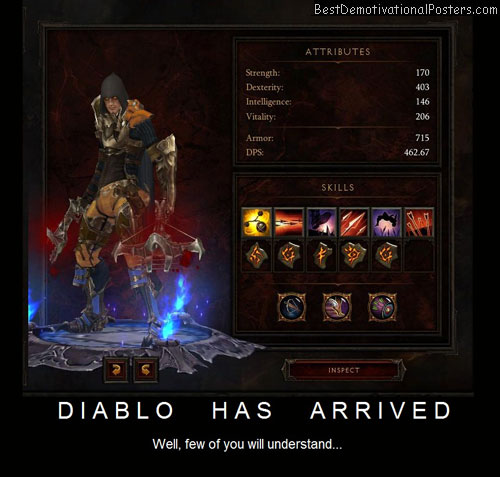 Diablo 3 Has Arrived