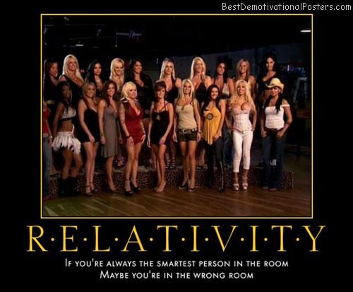 Between Relativity