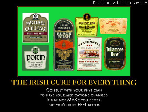 irish-cure-for-everything-irish-whiskey-sick-medicine-best-demotivational-posters