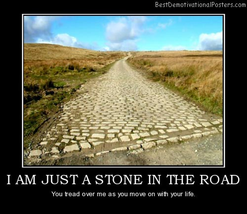 just-a-stone-in-the-road-best-demotivational-posters