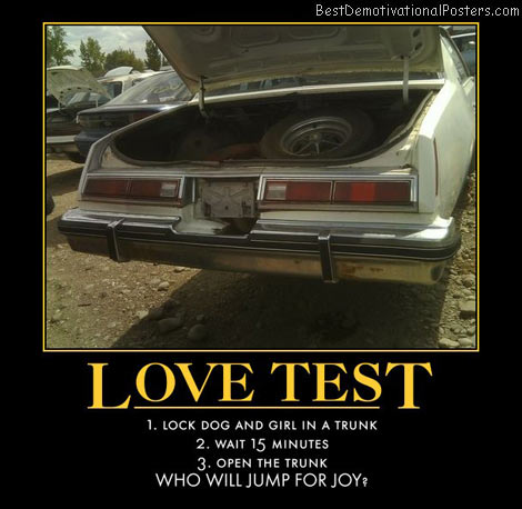 Trunk Love Test