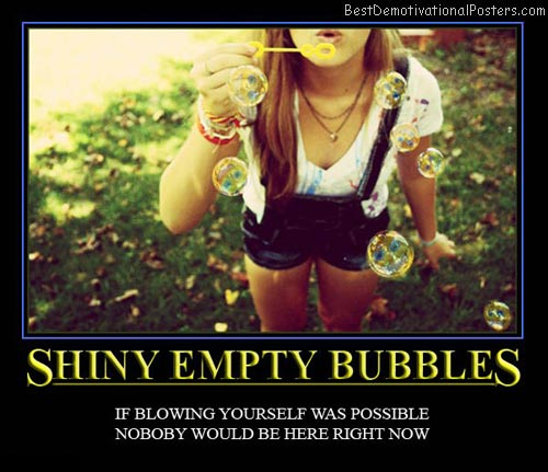 Shiny Empty Bubbles